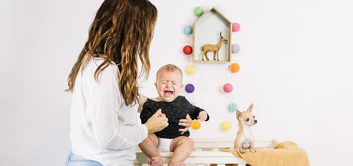 Manifestari de anxietate la varsta 15-30 luni